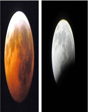 مشاهده ماه گرفتگی با یک تلسکوپ کوچک