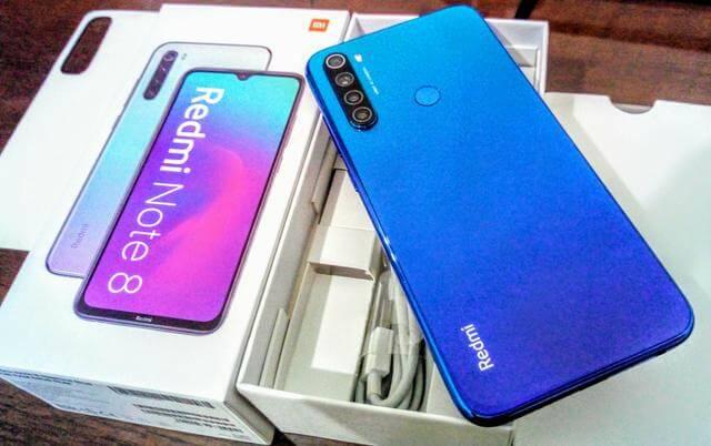 آنباکسینگ شیائومی Redmi Note 8