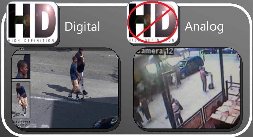 تفاوتهای دوربین آنالوگ و دیجیتال