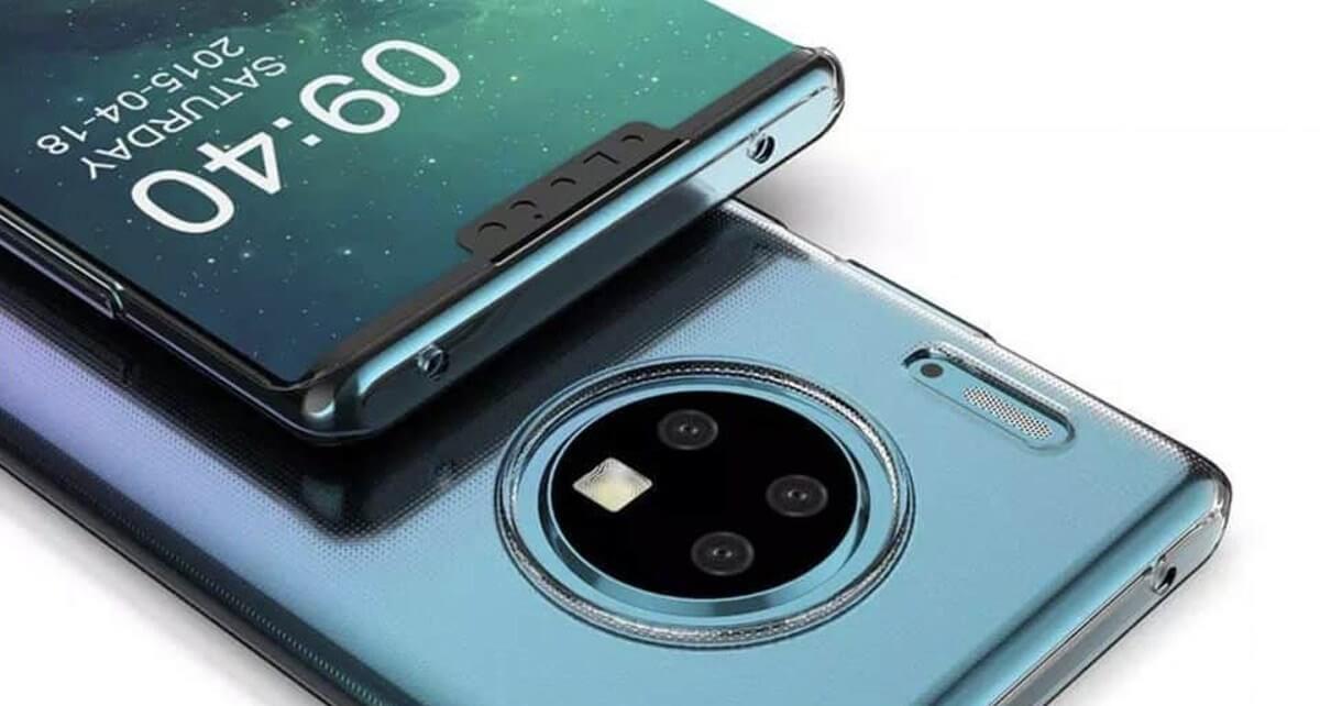 گوشی هوشمند هواوی میت 30 پرو با نمایشگر آبشاری