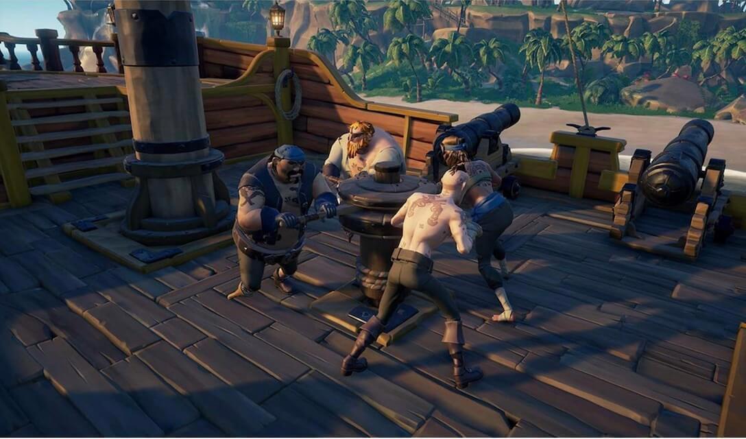بازی انحصاری Sea of Thieves