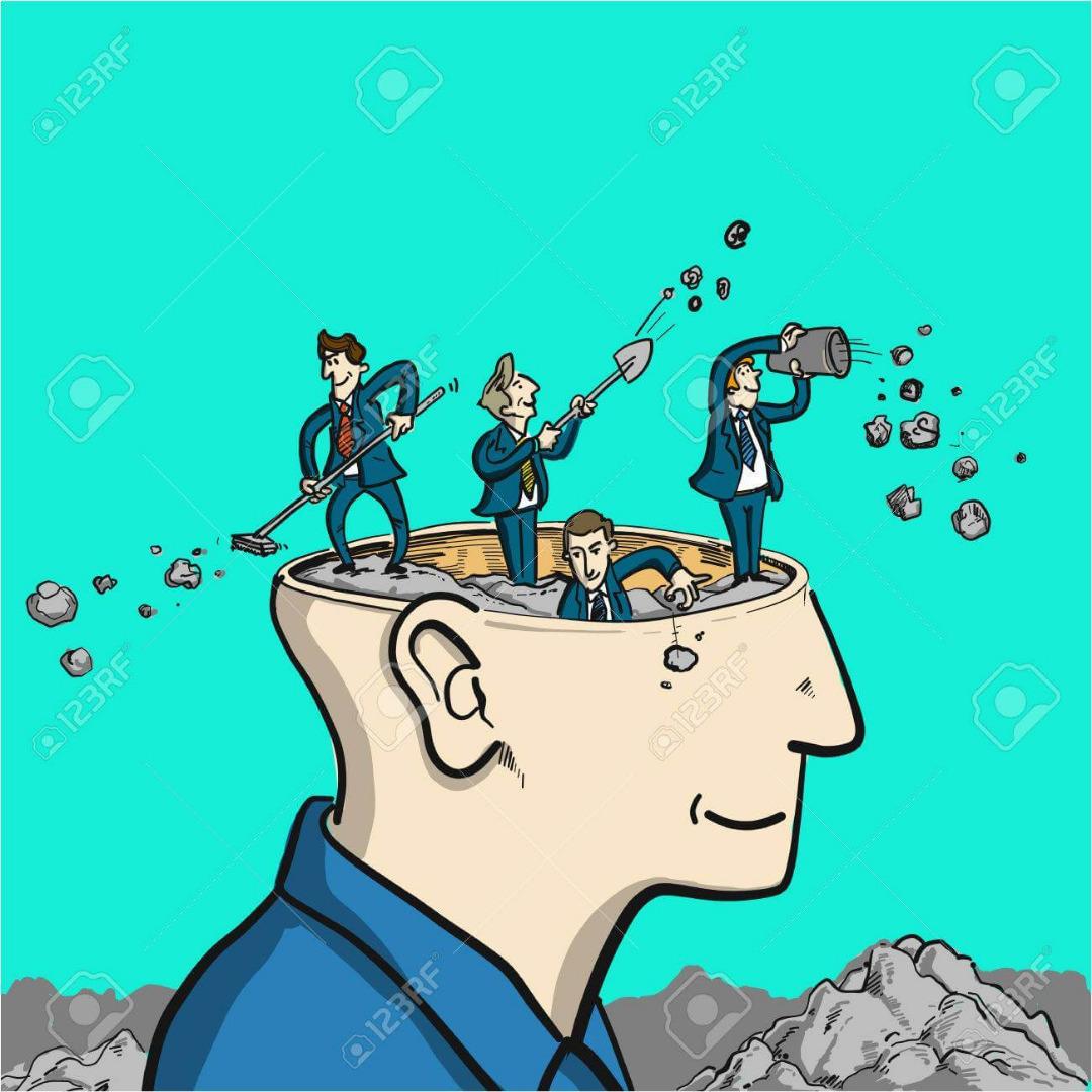 تمیز کردن ضایعات مغزی