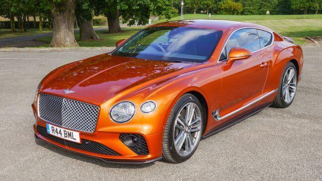 بنتلی کانتیننتال جی تی Bentley Continental GT