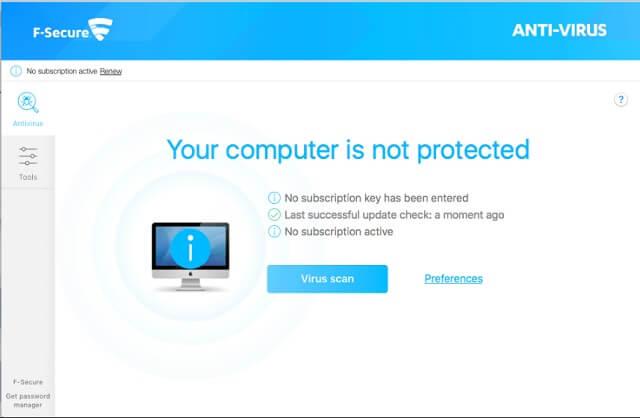 آنتی ویروس F-Secure