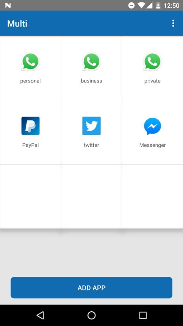 اپلیکیشن Multiple Accounts