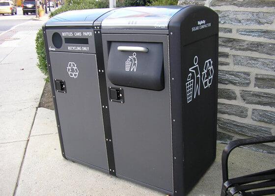 تکنولوژی سطل آشغال هوشمند