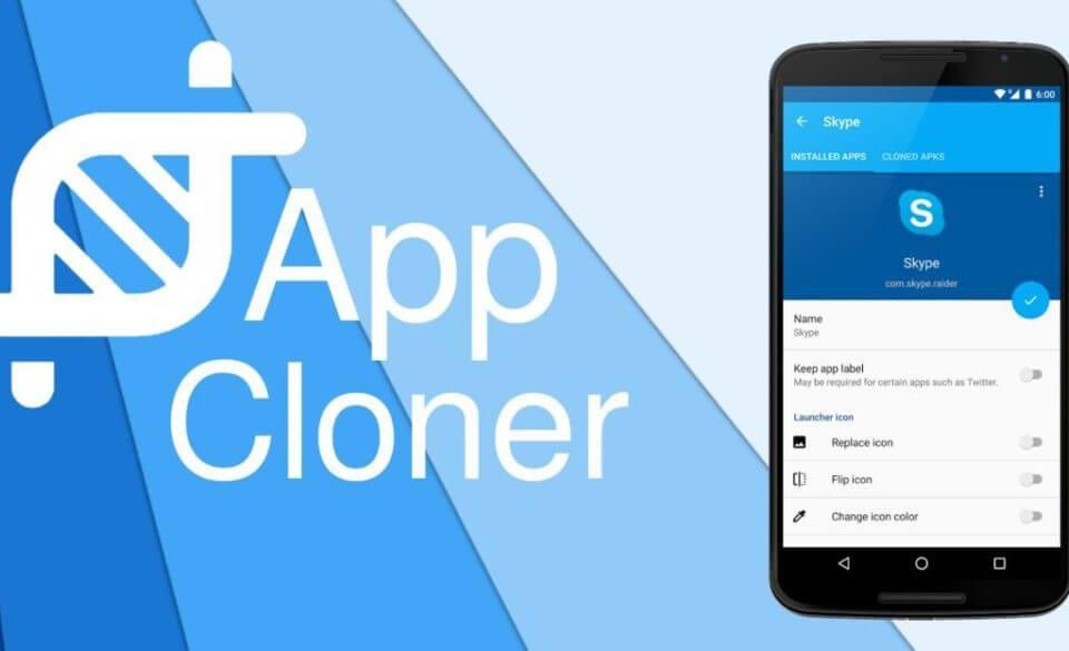 اپلیکیشن App Cloner