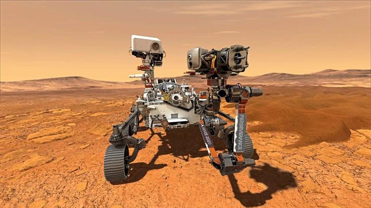 تکنولوژی پرسی و طرحی هنری از مقر آینده ی انسان در مریخ