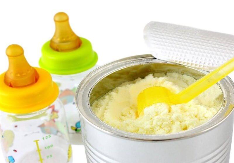 شیر خشک برای تامین لاکتوژن نوزاد